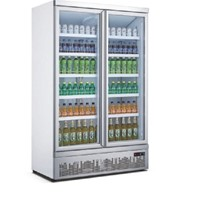 Mitchel 2 Door Glass Drinks Refrigerator