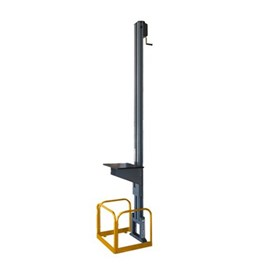 Mezzalift Manual Goods Lift for Mezzanines