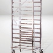 Clear PVC Food Trolley Covers