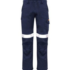 SYZMIK FIRE ARMOUR Mens Inherent Fire Retardant Cargo Pant TAPED