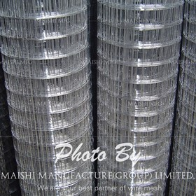 "Welded Wire Mesh For Fence | 1"" SS304"