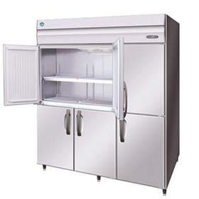 Split Doors Pilar Less Upright Freezer | HFE-187B-AHD-ML