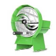 Commercial Manual Vegetable Fruit Slicer Green