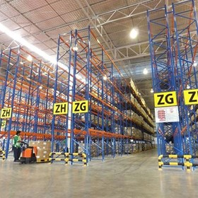Double-Deep Racking Configuration