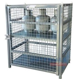 Gas Cylinder Storage Cages