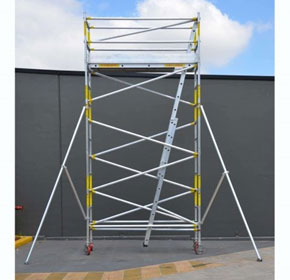 Medium Duty Scaffolding | SUPASCAF 4.0m Aluminium Mobile Scaffold