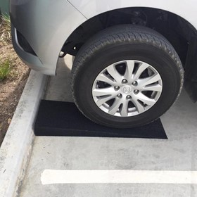 Solid Rubber Car Loading Ramps | 300mm Wide