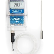 Temperature Data Logger for Medical Applications | T-TEC 7RF-3E