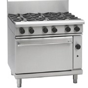 Gas Range Static Oven Waldorf 800 Series RN8610G - 900mm