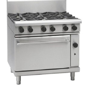 Gas Range Static Oven 800 Series RN8610G - 900mm