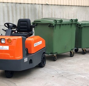 Sitecraft Heavy Duty Sit-on Battery Electric Tow Tugs