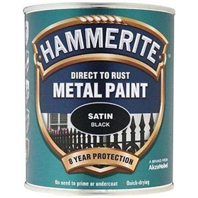 Hammerite Direct to Rust  Satin Finish Metal Paint