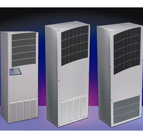 Outdoor control cabinet air conditioners