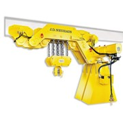 JDN | Ultra Low Monorail Hoists | Hydraulic