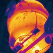 FLIR A320G For Steel Ladle Refractory Inspection