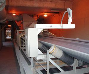 MA-500 installed on conveyor