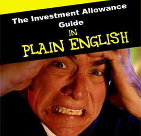 The Investment Allowance Guide in Plain English
