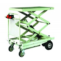 Electric Powered Scissor Lift and Drive Trolley | HG116