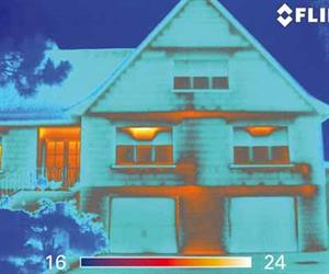 A FLIR B-Series Infrared Camera is an Extremely Valuable Tool for Pinpointing Energy Losses in Buildings