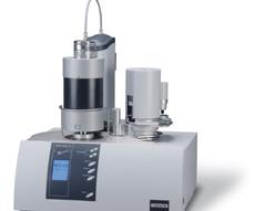 The DSC 404 differential scanning calorimeter can test for the thermal properties of foods