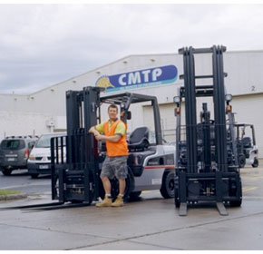 Nissan forklifts: Just right for industry leader