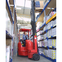 Flexilift narrow forklift: Rugged for oil production