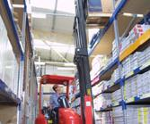Narrow aisle Flexi suits tough environments.