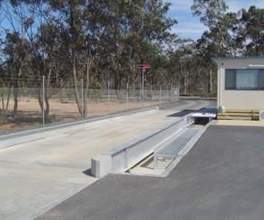 Weighbridge at Bendigo Landscaping Supplier