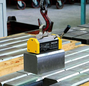 Lifting magnets provide safety
