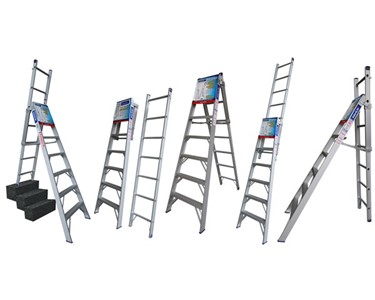 Five different ladder modes