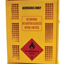Aerosol and Gas Storage | Aerosol Can Storage Cages | 132 Can
