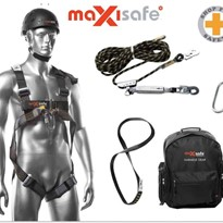 Maxisafe Roofers Kit Professional Full Body Safety Harness – ZBH901