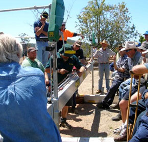 Aussies make the most of Lucas Mill Demo Days