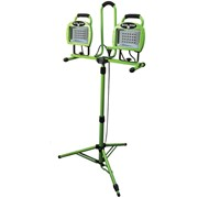 Twin Head Portable LED Work Light | Tripod Dual Head