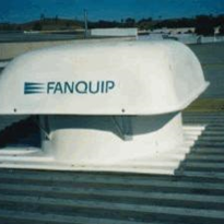 Profiled hooded roof fans