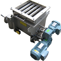 Case study: Metering screw feeder with grate magnet