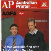 Le Mac moves into digital with Agfa :dotrix inkjet