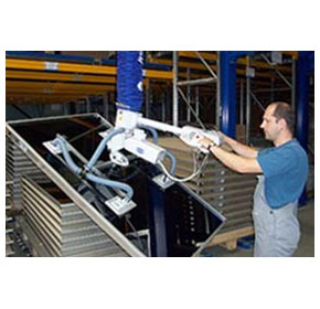 Vacuum handling decreases handling times of parts