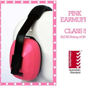 On Site Safety Torque Pink Class 5 Ear Muffs