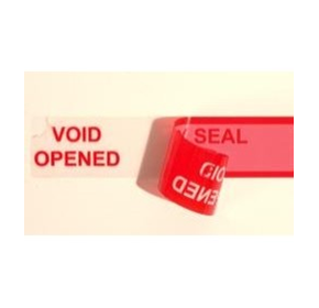 Information on security seals available from Tamper Evident