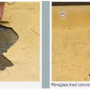 Fibreglass lined concrete pools and Epotec