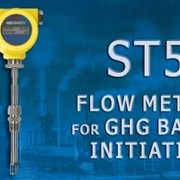ST51 GHG flow meter supports EPA's steps in preventing global warming