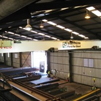Crane company delivers for steel distributor