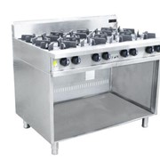 8 Burner Cooktop