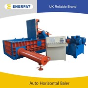 UK Enerpat Scrap Radiator Metal Baler | Metal Baling Machine