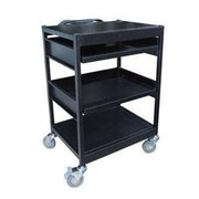 HS900 Quad Deck Computer Trolley Cart