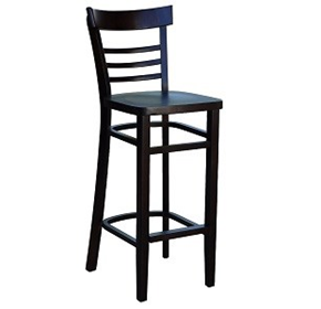 Vienna Timber Seat Barstool | European Beech Wood