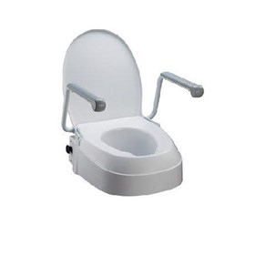 Raised Toilet Seat - Homecraft