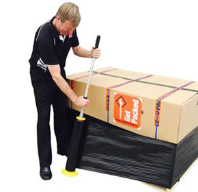 How to hand wrap a pallet and addressing OH&S issues