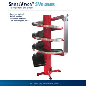 Vertical conveyor for e-commerce & express delivery up to 1 meter wide